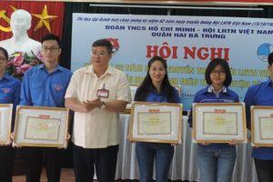 Tuổi trẻ quận Hai Bà Trưng đảm nhận 30 công trình, phần việc thanh niên