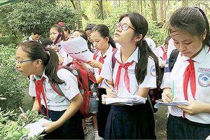 Các trường THCS, THPT tại TP HCM sẽ tổ chức 'tiết học ngoài nhà trường'