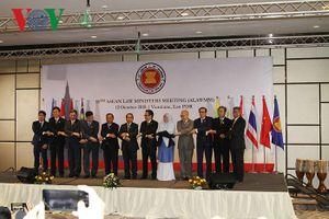 Khai mạc Hội nghị Bộ trưởng Tư pháp ASEAN lần thứ 10