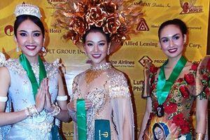 Phương Khánh giành chiến thắng trong phần thi Trang phục dân tộc tại 'Hoa hậu Trái đất 2018'