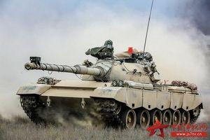 Giải mã thiết bị lạ trên xe tăng chiến đấu chủ lực Trung Quốc