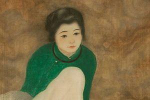 Đấu giá tranh 'Thiếu nữ cầm quạt' của họa sư Nam Sơn