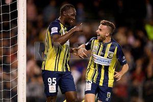 Vua nước rút Usain Bolt: 'Thật tuyệt vời khi ghi được 2 bàn'