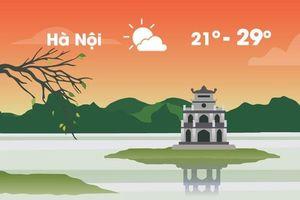 Thời tiết ngày 13/10: Hà Nội nắng cả ngày, Sài Gòn mưa rào buổi tối