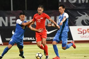 Singapore đánh bại Mông Cổ trong trận giao hữu trước thềm AFF Cup