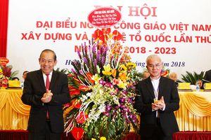 Phó Thủ tướng Thường trực dự Đại hội Ủy ban Đoàn kết Công giáo Việt Nam