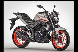 2019 Yamaha MT-03 lộ thiết kế, rất nổi bật