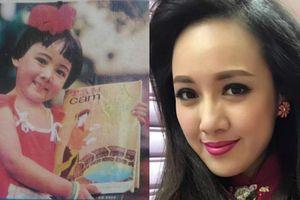 Ảnh thuở 'ngố tàu' 4 tuổi của BTV Hoài Anh khiến fan ngỡ ngàng
