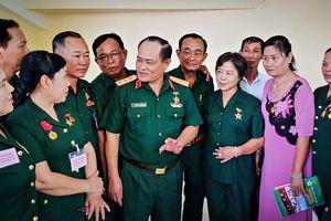 Thiếu sinh quân Quân khu 9 họp mặt kỷ niệm ngày truyền thống