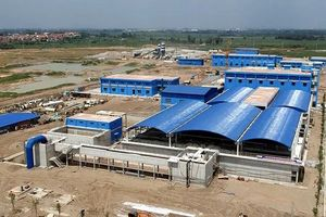 Khánh thành nhà máy nước sạch lớn nhất miền Bắc