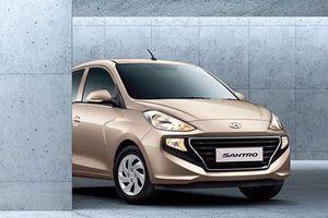 Xe giá rẻ Hyundai Santro mới, giá chỉ 117 triệu đồng