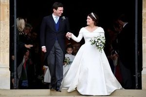 Toàn cảnh đám cưới đẹp như mơ của cháu gái Nữ hoàng Anh