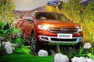 Vừa ra mắt, Ford Everest 2019 đã bán được hơn 500 xe/tháng