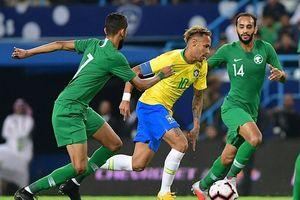 Brazil đem 'đại quân' thắng dễ Ả Rập Saudi