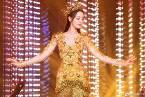 'Nữ thần Kim Ưng' Địch Lệ Nhiệt Ba bị chê mập và múa thô