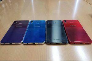 Samsung Galaxy A6s rò rỉ ảnh thực tế với camera kép, nhiều tùy chọn màu sắc