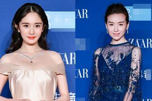 Thảm đỏ Bazaar: Dương Mịch 'chặt đẹp' hội chị em, 'Hoàng hậu' Đổng Khiết không kém phần quý phái