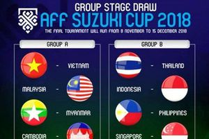 VOV Sẽ phát trực tiếp AFF Cup 2018 trên VOV2, VOVGT, VOV.VN, VTC3, VTCnews