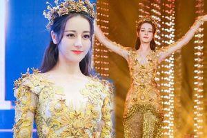 Đẹp như tiên nữ nhưng Địch Lệ Nhiệt Ba vẫn bị chê bai vì điều này khi hóa Nữ thần Kim Ưng