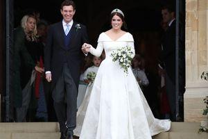 Thông điệp ý nghĩa về váy cưới trắng của công chúa Anh Eugenie