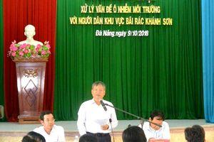 Đà Nẵng: Miễn thu phí môi trường với các hộ dân sống quanh bãi rác Khánh Sơn