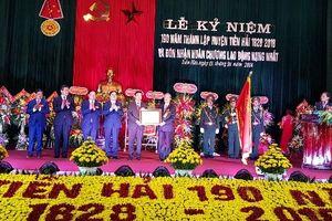 Thái Bình: Huyện Tiền Hải kỷ niệm 190 năm thành lập