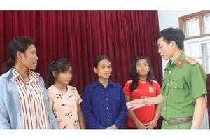 Nghệ An: Giải cứu 2 nữ sinh khỏi bọn buôn người