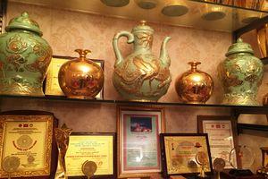 Công bố kỷ lục Quốc gia và thế giới: Gốm sứ tâm linh Nason có tỷ lệ thạch anh cao nhất