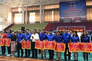 200 vận động viên tham gia 'Ngày hội thanh niên khỏe'