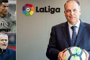 La Liga 'mở rộng cửa' với Mourinho và Pep Guardiola