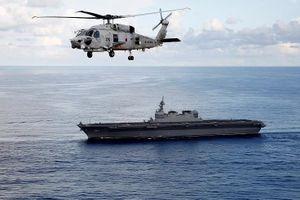 Hình ảnh vũ khí và sinh hoạt trên tàu sân bay trực thăng Kaga của Nhật