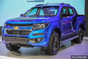 Khám phá Chevrolet Colorado Storm phiên bản giới hạn tại Việt Nam