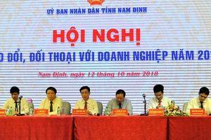 Nam Định gặp gỡ, đối thoại với doanh nghiệp nhân Ngày Doanh nhân Việt Nam