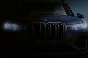 BMW hé lộ hình ảnh đầu tiên về SUV cỡ lớn X7