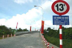 Đồng Tháp xác định giá để mua lại dự án BOT cầu sông Cái Nhỏ