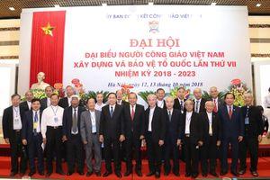 BẢN TIN MẶT TRẬN: Ủy ban Đoàn kết Công giáo Việt Nam luôn là cầu nối giữa đạo và đời