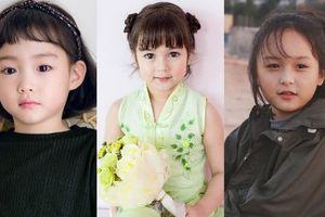 Vẻ đáng yêu của 5 bé gái nổi tiếng châu Á