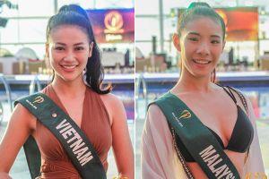 Mặt mộc của dàn người đẹp Hoa hậu Trái đất 2018