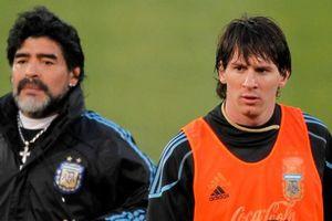 Maradona: Hãy thôi 'thần thánh hóa' Messi