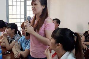 Lắng nghe, giải quyết nguyện vọng công nhân