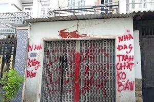 UBND quận Bình Tân yêu cầu công an điều tra, xử lý nghiêm vụ 'khủng bố' bằng sơn, mắm tôm