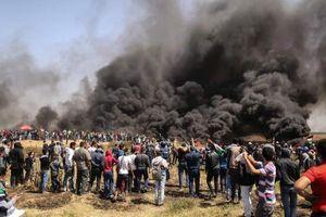Kinh hoàng cuộc biểu tình đẫm máu ở dải Gaza
