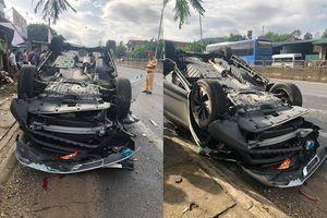 Tai nạn giao thông: Phó Giám đốc Sở TN&MT Đà Nẵng đâm xe lật ngửa, vợ tử vong