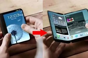 Smartphone màn hình gập của Samsung sẽ trở thành tablet khi mở ra