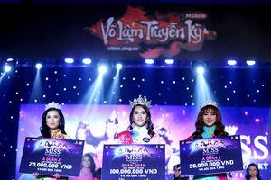 Nguyễn Ngọc Bảo Hà giành vương miện 'Miss Võ Lâm Truyền Kỳ Mobile'