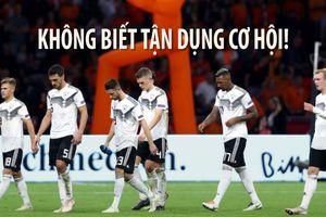 Đức thảm bại trước Hà Lan, Low đổ lỗi cho cầu thủ không tận dụng cơ hội