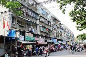 TPHCM: Dân sống ở chung cư xuống cấp được nhận tiền tạm cư