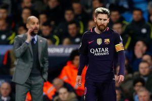 Man City hứa tăng lương gấp 3 lần, Messi lạnh lùng từ chối Pep