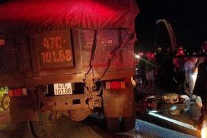 Đắk Lắk: Điều tra vụ nữ trung úy tử vong dưới gầm xe ben