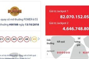 Xổ số Vietlott: Giải Jackpot lên tới 82 tỷ đồng, ai là người may mắn?
